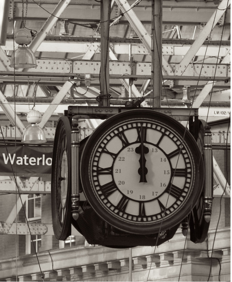 The Tame Man: Waterloo Clock